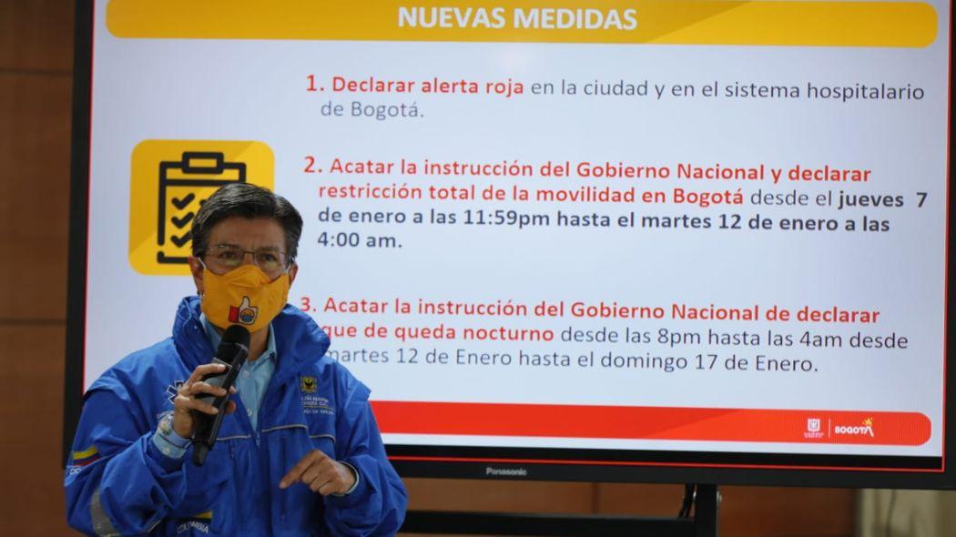 Toque de queda nocturno en Bogotá: todos los detalles | Bogota.gov.co