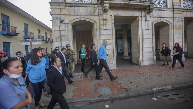 Simulacro Distrital de Evacuación - Foto: Prensa Alcaldía Mayor / Camilo Monsalve