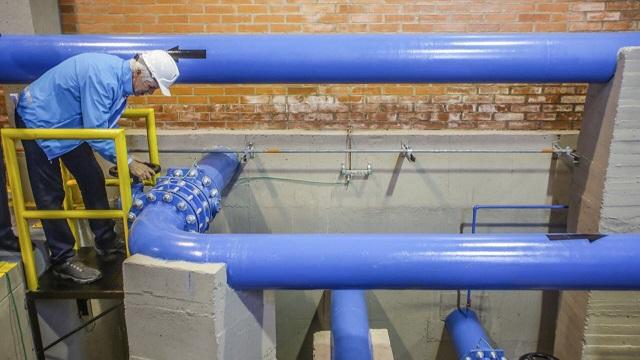 Inauguración de tanques de agua en Ciudad Bolívar - Foto: Comunicaciones Alcadía / Camilo Monsalve