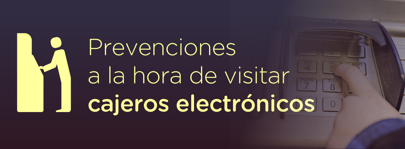 Seguridad Cajeros electrónicos