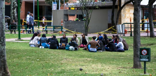 Bogotá tiene más de 5000 parques.