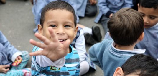 La salud de los niños es prioridad para Bogotá
