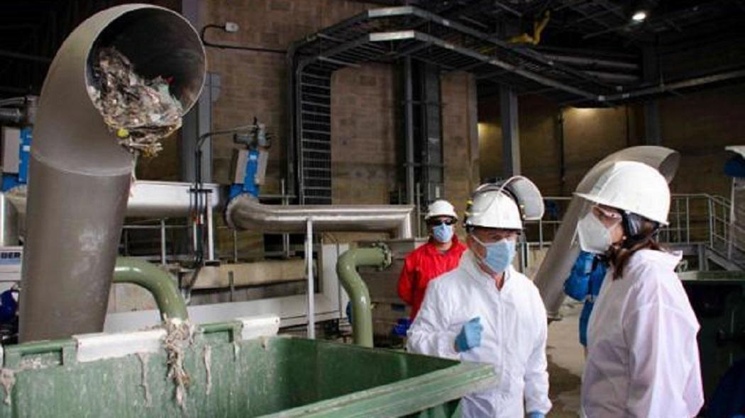 El 50% de los residuos de los desagües son objetos sanitarios - FOTO: Prensa Empresa de Acueducto
