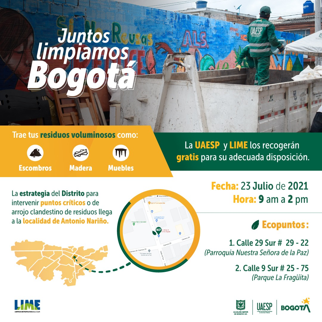 Juntos Limpiamos Bogotá