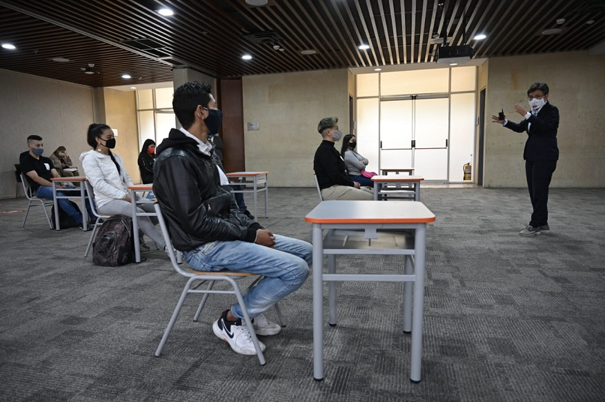Oportunidades de formación a 8.000 jóvenes que ni estudian ni trabajan - Foto: Comunicaciones Alcaldía Bogotá