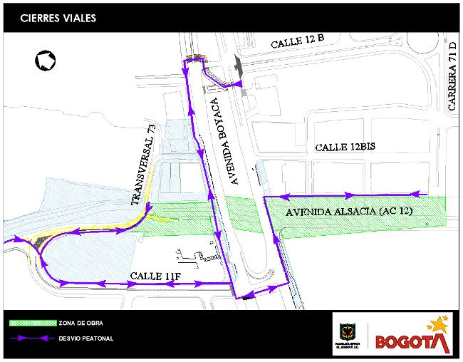Mapa 10. Rutas peatonales