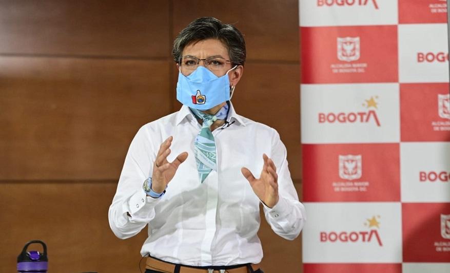Bogotá inicia una Nueva Realidad, alcaldesa anuncia las nuevas medidas - Foto: Comunicaciones Alcaldía Bogotá