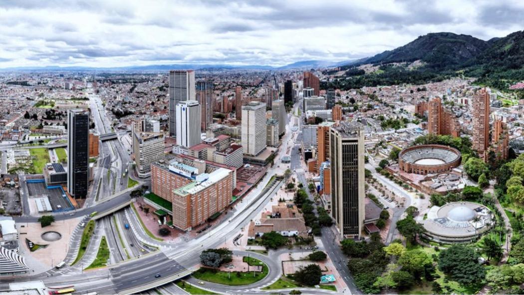 Panorámica del centro de Bogotá, Colombia. Foto: SDM