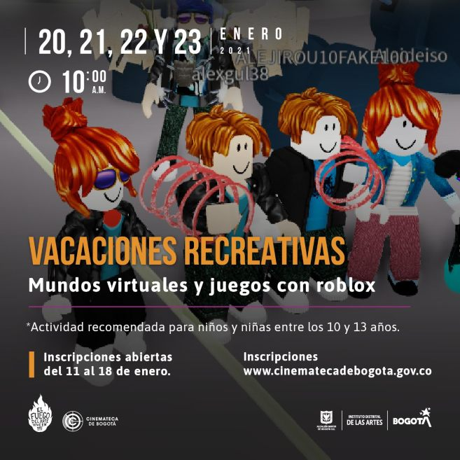 Vacaciones recreativas con la Cinemateca enero 2021