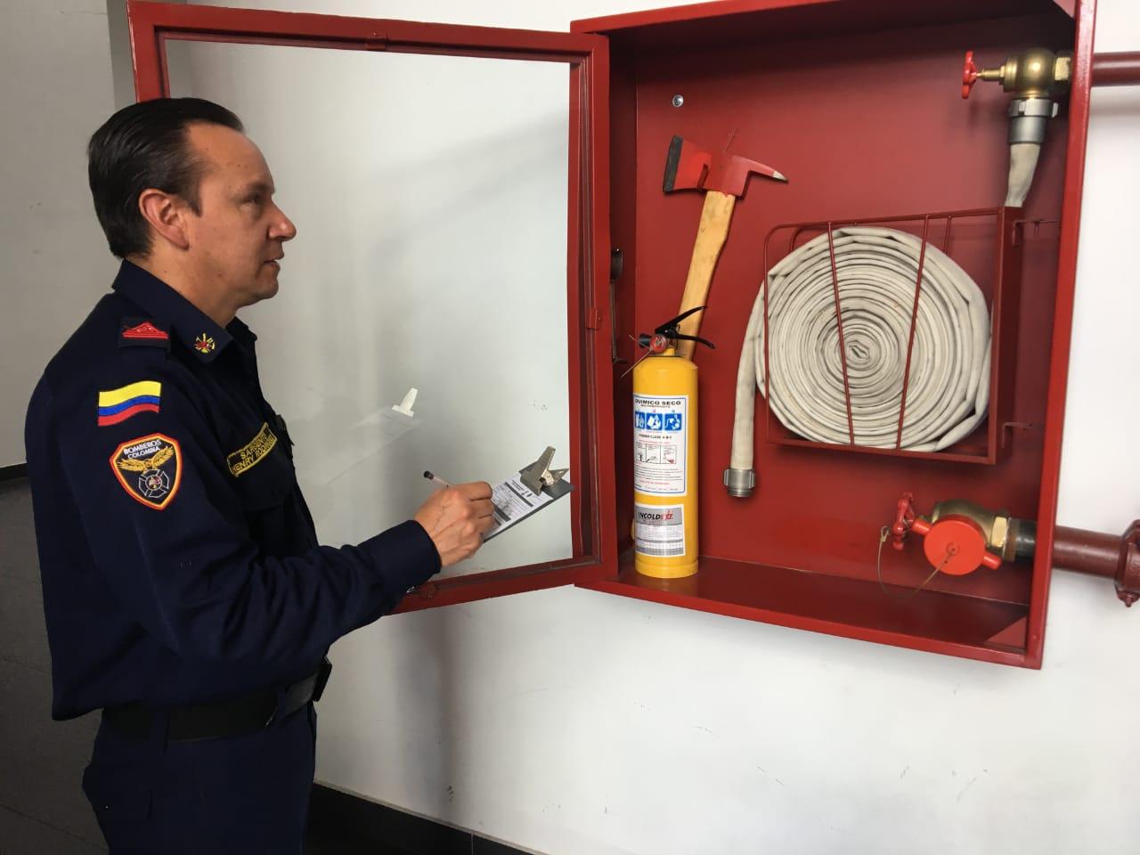 Recuerda poner al día tu establecimiento con las inspecciones técnicas - FOTO: Prensa Bomberos de Bogotá