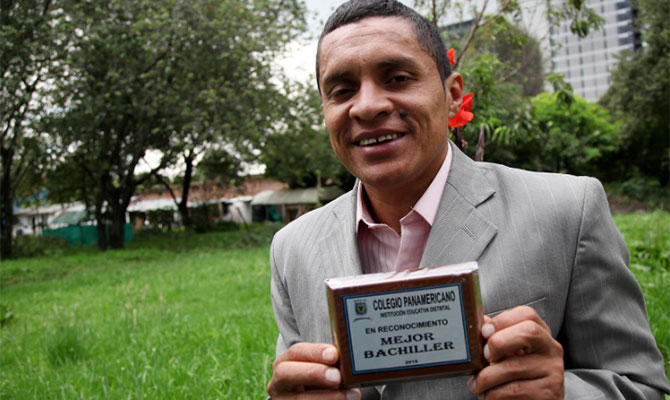 Habitante de calle estudiará en la Universidad de Antioquia