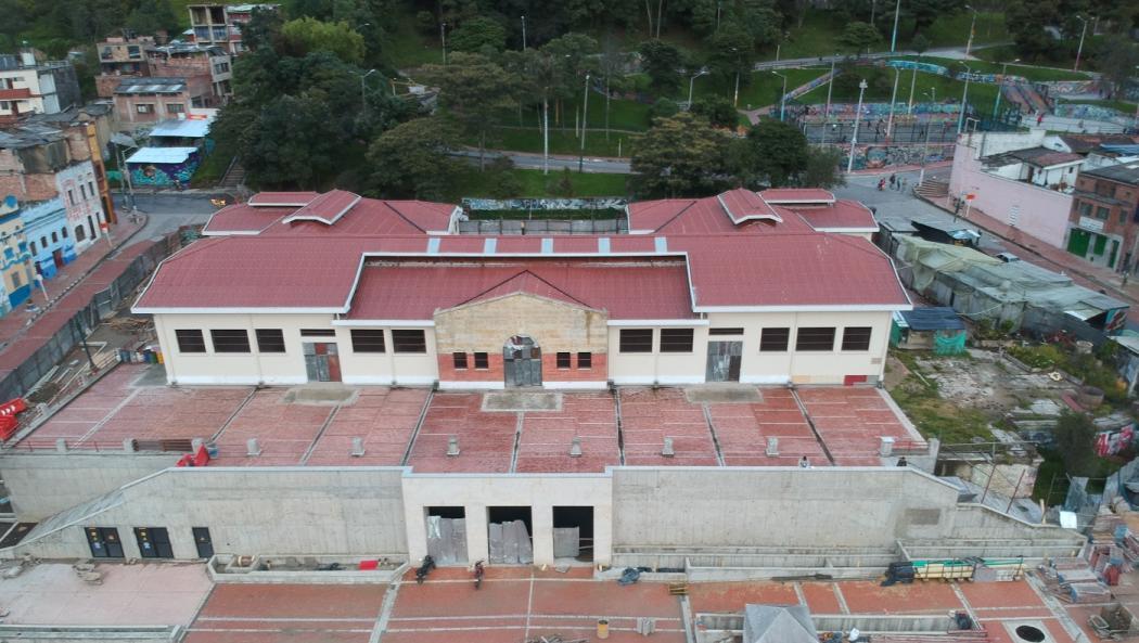 Plaza De Mercado La Concordia En Restauración Bogota Gov Co