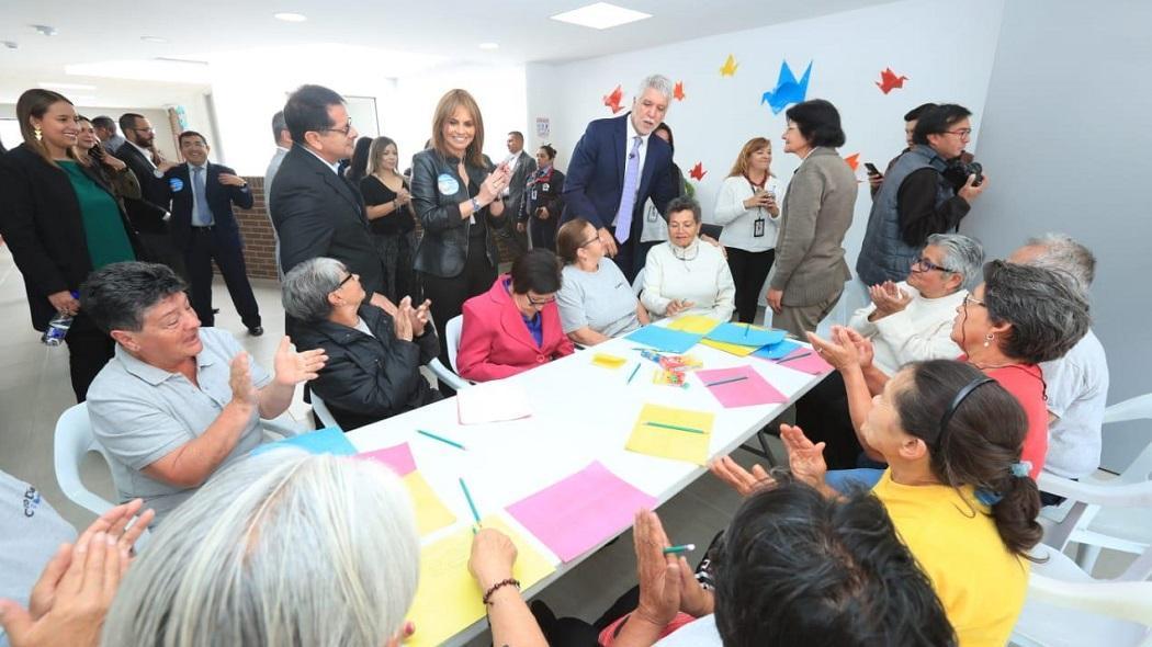 En Engativá los adultos mayores ahora tienen un nuevo Centro Día