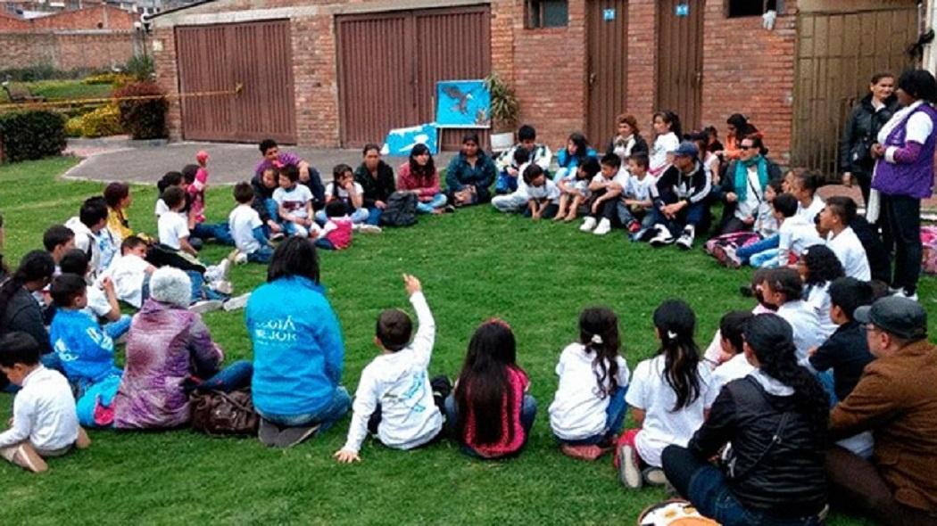 Bogotá con educación bien calificada