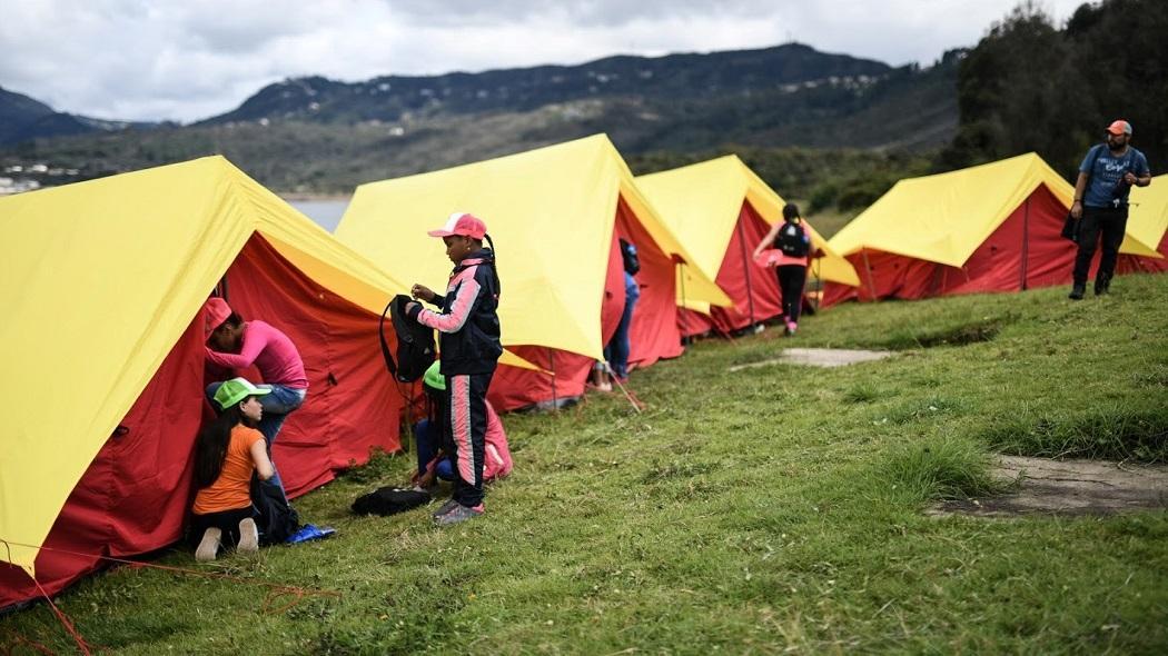 campamentos juveniles en Bogotá