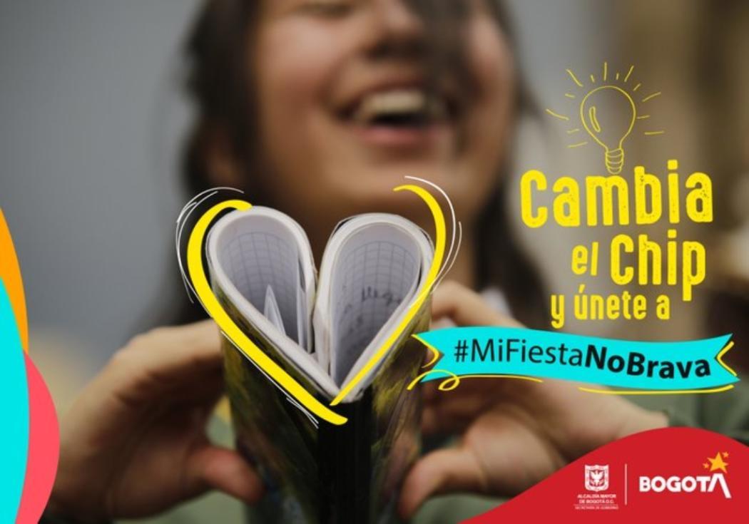 #MiFiestaNoBrava en Bogotá continúa este fin de semana de febrero 2020