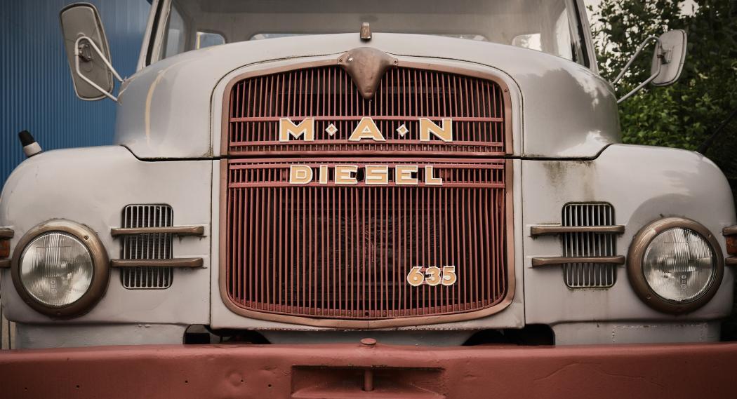 Fotografía de un camión