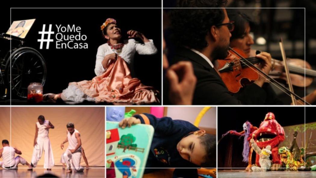 Eventos culturales virtuales en abril durante la cuarentena nacional