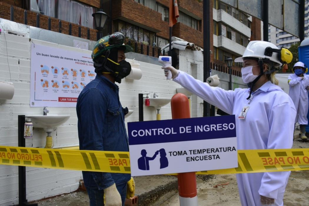 Cuarentena en Bogotá: visitas a obras de construcción privadas ...