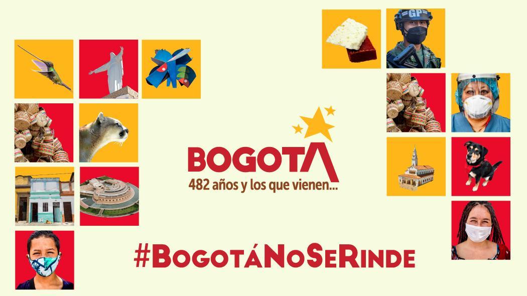 Bogotá celebra 482 años y lo celebra a pesar del coronavirus