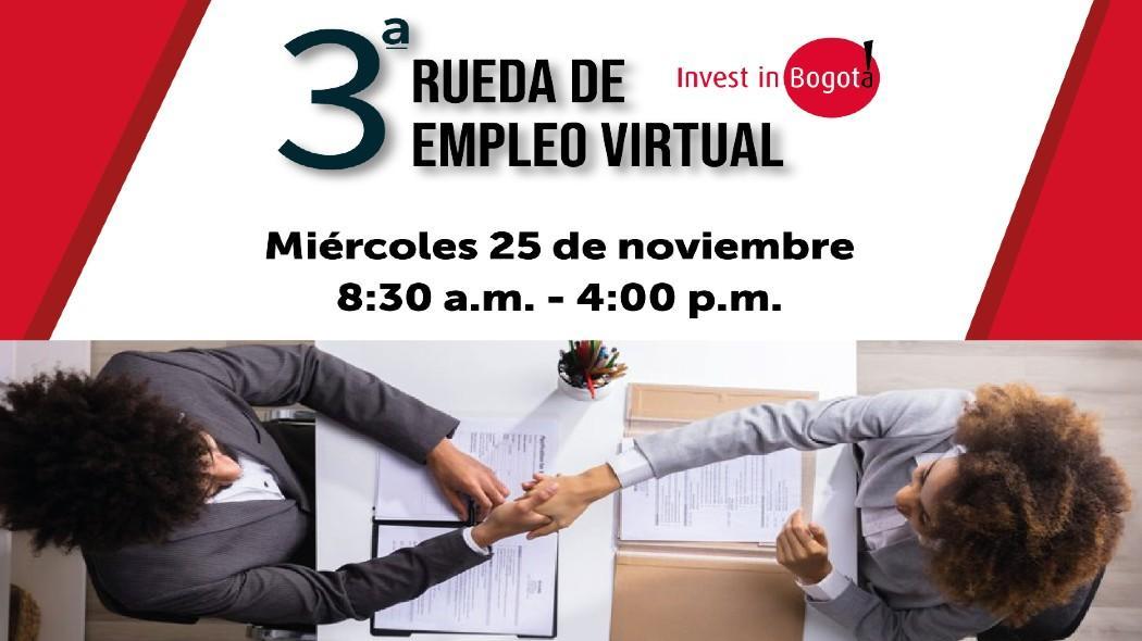 ¡Trabajo sí hay! 1.500 nuevas vacantes en tercera Rueda Virtual de Empleo