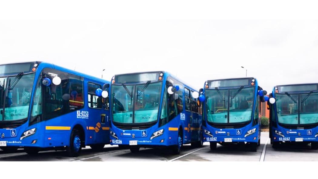 Buses SITP. Foto: TransMilenio