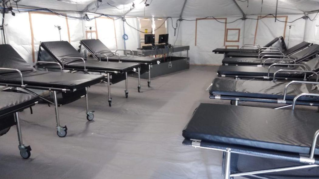 Hospital de campaña en Kennedy