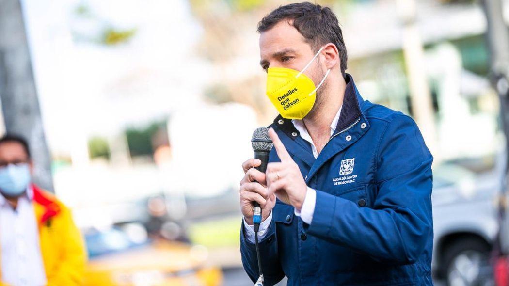 El secretario Luis Ernesto Gómez pidió a los ciudadnos abstenerse de salir o ingresar a la ciudad salvo en casos urgentes