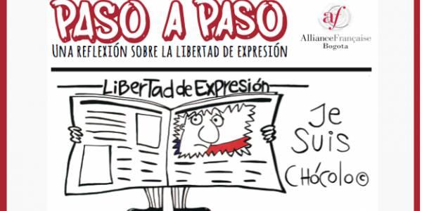 """Exposición """"Paso a Paso"""" una reflexión sobre la libertad de expresión"""