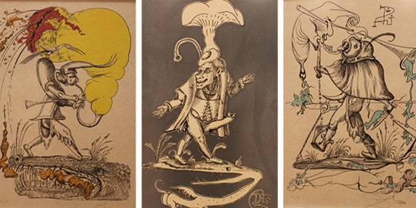 Exposición; Las Cenas de Gala de Salvador Dalí y Los Sueños Caprichosos de Pantagruel