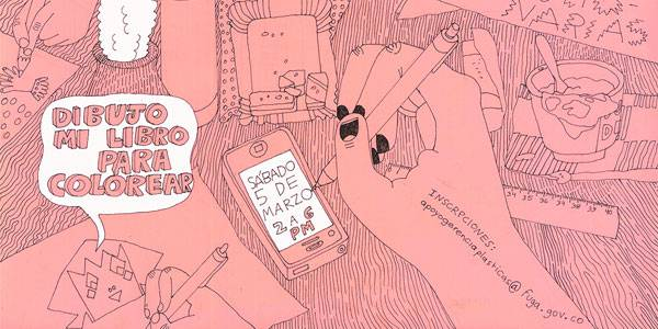 Inscribase al taller 'Dibujo mi libro de colorear' por Powerpaola