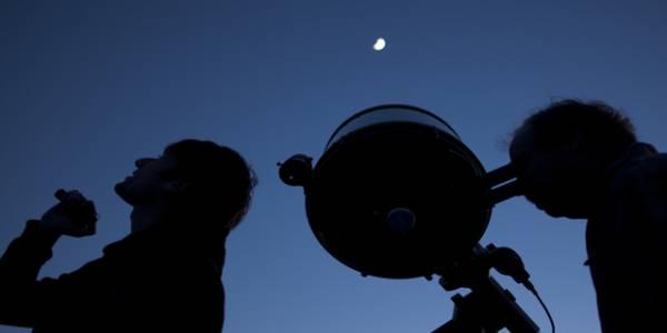 Astronomía observacional - Foto: Centro de Astrofísica y Tecnologías Afines (CATA)