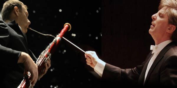 Marco Parissoto y Matthias Racz - Foto: Orquesta Filarmónica de Bogotá (OFB)
