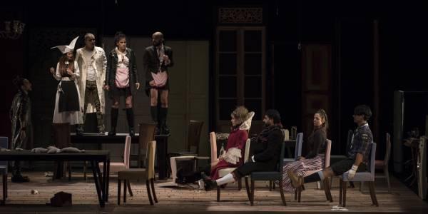 Cuando Estallan las Paredes - Foto: Teatro Mayor Julio Mario Santo Domingo