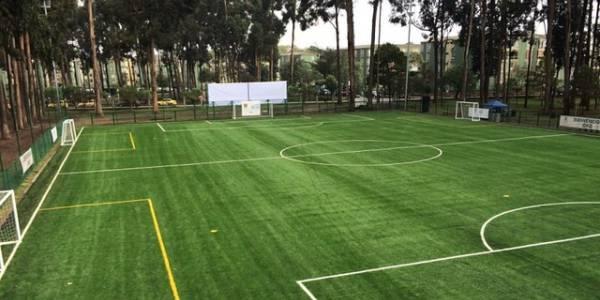 Cancha sintética de fútbol - Foto: Secretaría de Cultura, Recreación y Deporte