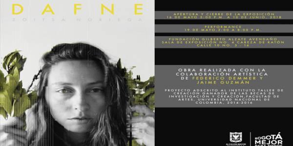Exposición DAFNE - Foto: Fundación Gilberto Alzate Avendaño (FUGA)