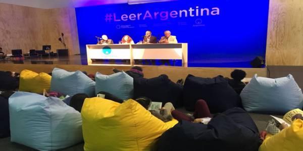 Pabellón de Argentina - Foto: Feria del Libro Bogotá