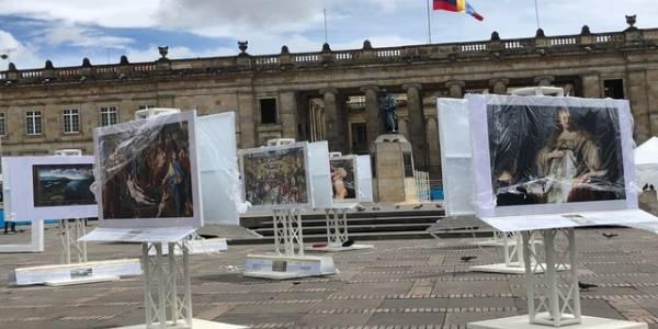 Museo del Prado en Plaza de Bolívar - Foto: Alcaldía Mayor de Bogotá