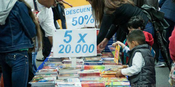 Feria de Libro Callejera vuelve a la Plaza del Rosario