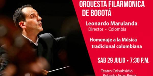 Homenaje a la música tradicional colombiana con el Director Leonardo Marulanda