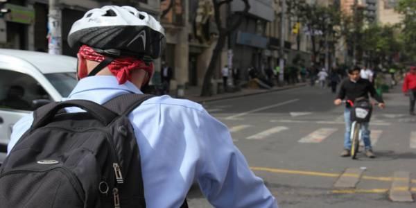 Biciusuarios en Bogotá - Foto: Secretaría de Cultura, Recreación y Deporte