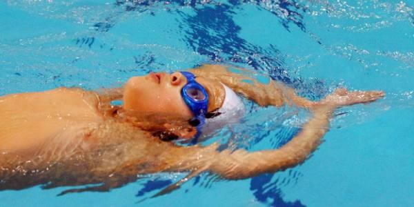 Cursos de natación en el Complejo Acuático