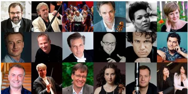 Artistas destacados - Orquesta Filarmónica de Bogotá 2018