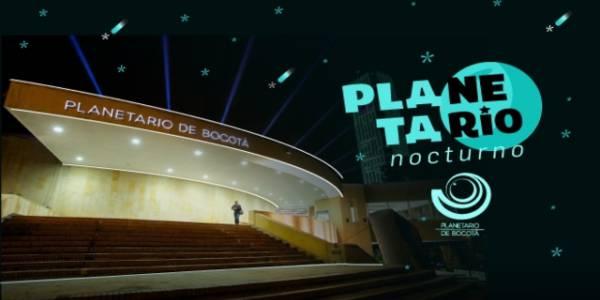 Planetario Nocturno - Foto: Planetario de Bogotá