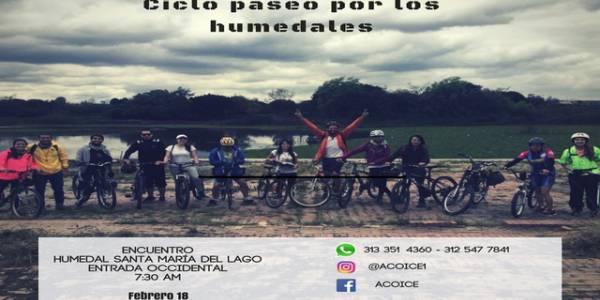 Recorrido Humedales - Foto: Asociación Colombiana para la Investigación y Conservación de Ecosistemas