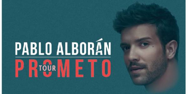 Pablo Alborán Tour Prometo 2018 - Foto: TuBoleta