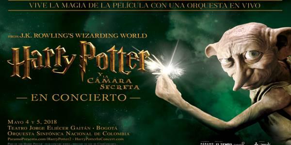 Harry Potter y la Cámara Secreta en concierto - Foto: Páramo Presenta