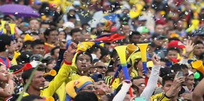 Partido de Colombia - Foto: Colprensa
