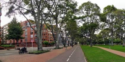 Parque El Virrey - Foto: Bicitravesías Bogotá