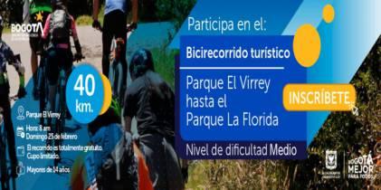 Bicirecorrido Parque El Virrey - Foto: Instituto Distrital de Turismo